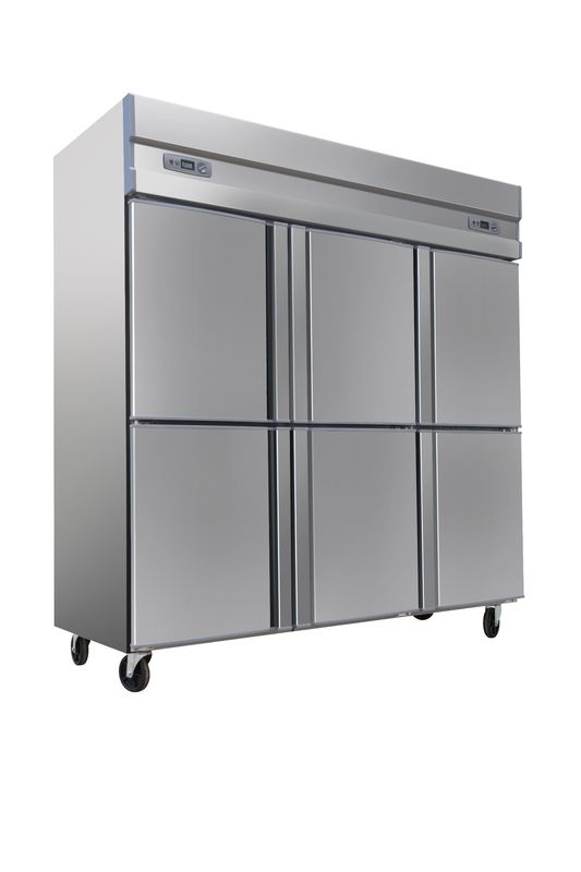Free Standing Static Cooling Commercial Refrigerator , 1600L Commercial Grade Refrigerator