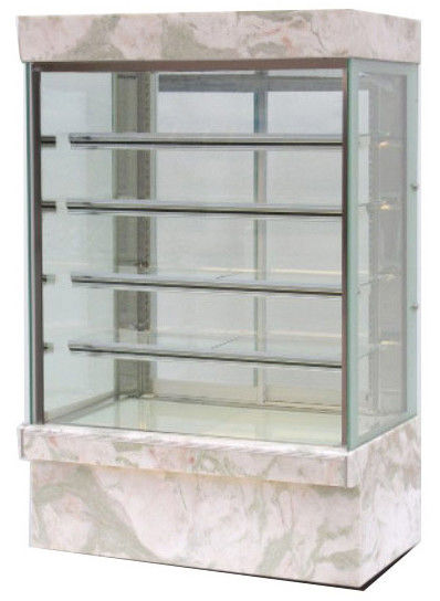 1200mm Four Layers Cake Display Cabinet , Commercial Cake Display Fridge